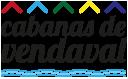 Logo negro Cabanas de Vendaval