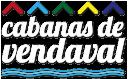 Logo blanco Cabanas de Vendaval